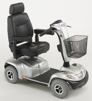 invacare elektro scooter orion 4 rad 6 km h reichweite. Black Bedroom Furniture Sets. Home Design Ideas