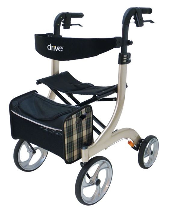 Drive Medical Rollator Nitro champagner