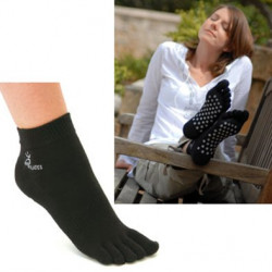 SISSEL Pilates Socks,anti- rutsch,schwarz Gr.L/XL(41-45)