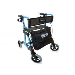 Drive Medical Rollator Diamond Farbe blau-metallic