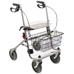 Drive Medical Rollator Cristallo mit Korb und Tablett
