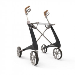 Topro Rollator Carbon Ultralight carbonschwarz